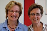 Portrait LOS Münster:  Sigrid Kammann und Heike Schmies