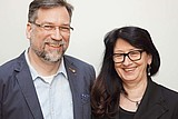 Portrait LOS Bamberg: Birgit und Thomas Bareuther , Annika Daum